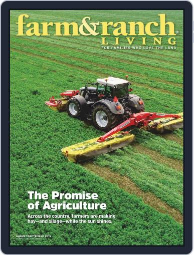 Farm and Ranch Living (Digital) August 1st, 2019 Issue Cover
