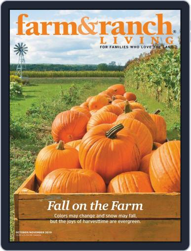Farm and Ranch Living (Digital) October 1st, 2019 Issue Cover