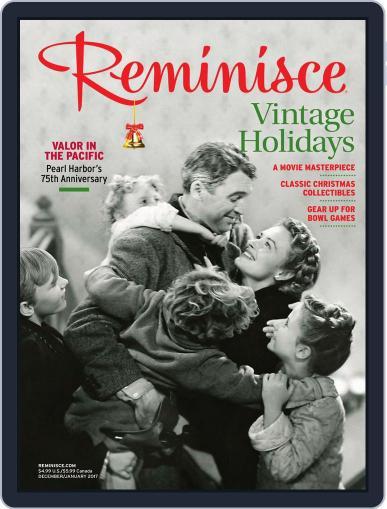 Reminisce (Digital) December 1st, 2016 Issue Cover
