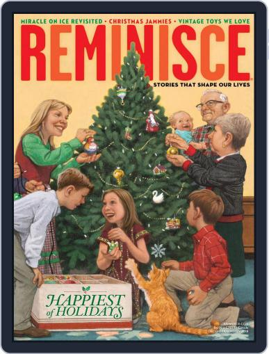 Reminisce (Digital) December 1st, 2017 Issue Cover