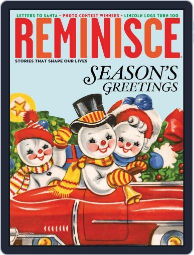 Reminisce (Digital) November 23rd, 2018 Issue Cover
