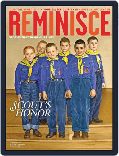 Reminisce (Digital) April 1st, 2019 Issue Cover