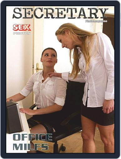 Sexy Secretary Adult Photo (Digital) April 11th, 2019 Issue Cover