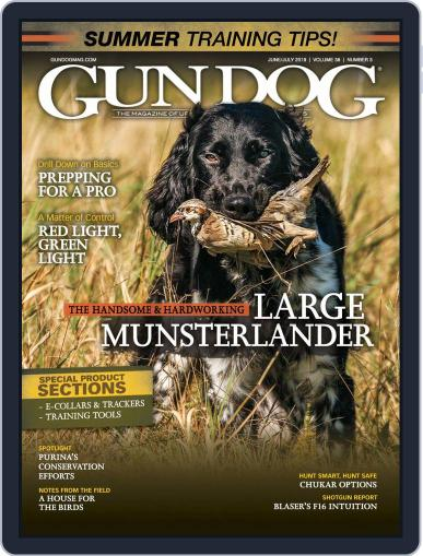 Gun Dog (Digital) June 1st, 2019 Issue Cover
