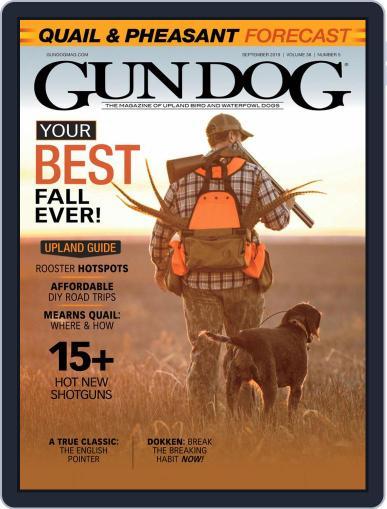Gun Dog (Digital) September 1st, 2019 Issue Cover