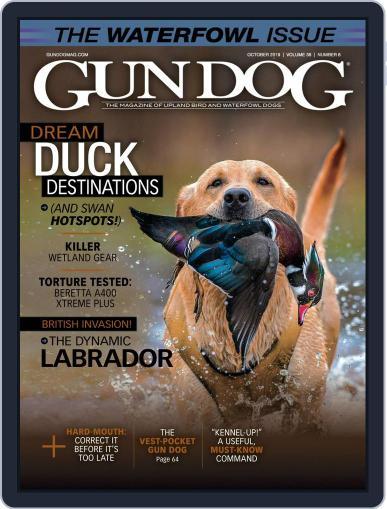Gun Dog (Digital) October 1st, 2019 Issue Cover