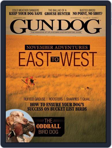 Gun Dog (Digital) November 1st, 2019 Issue Cover