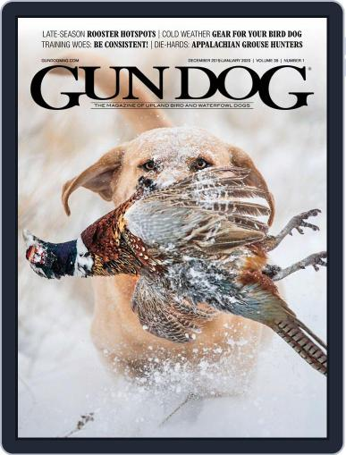 Gun Dog (Digital) December 1st, 2019 Issue Cover