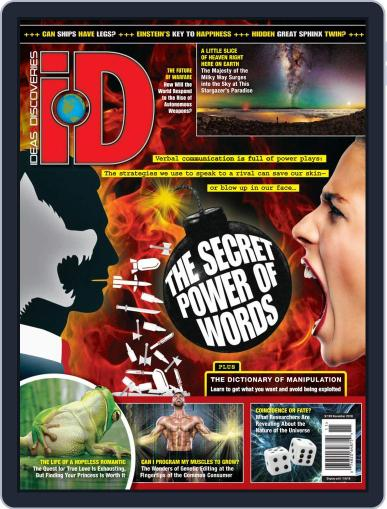 iD (Ideas & Discoveries) (Digital) November 1st, 2018 Issue Cover