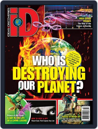 iD (Ideas & Discoveries) (Digital) May 8th, 2020 Issue Cover