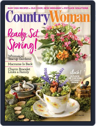 Country Woman (Digital) April 1st, 2018 Issue Cover
