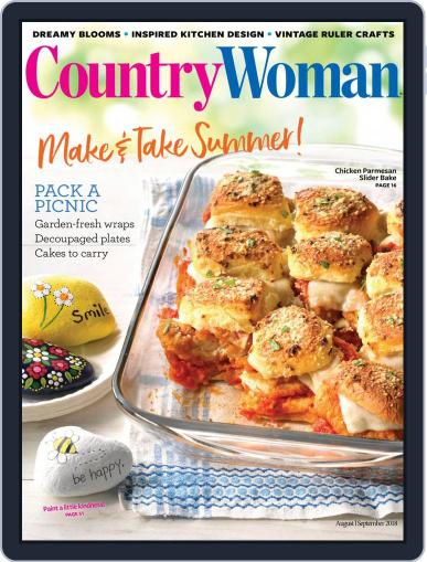 Country Woman (Digital) August 1st, 2018 Issue Cover