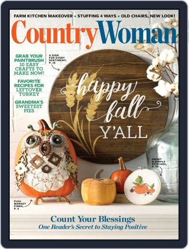 Country Woman (Digital) October 1st, 2018 Issue Cover