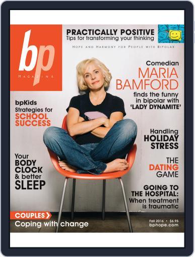 bp Magazine for Bipolar (Digital) September 2nd, 2016 Issue Cover