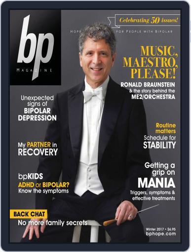bp Magazine for Bipolar (Digital) January 31st, 2017 Issue Cover