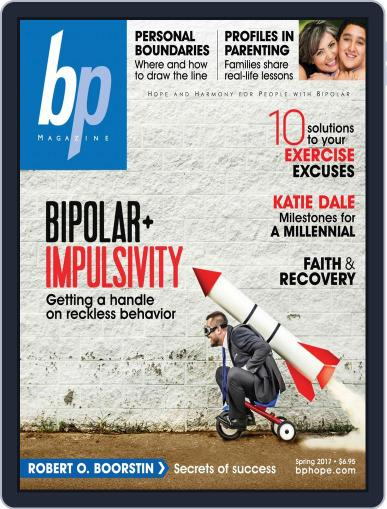 bp Magazine for Bipolar (Digital) April 3rd, 2017 Issue Cover
