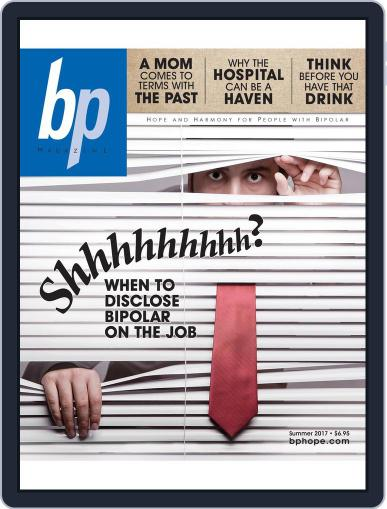 bp Magazine for Bipolar (Digital) July 3rd, 2017 Issue Cover