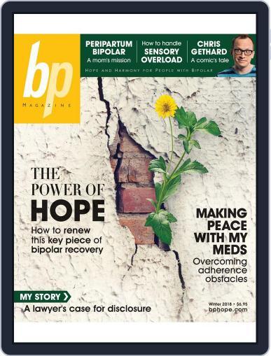 bp Magazine for Bipolar (Digital) January 1st, 2018 Issue Cover