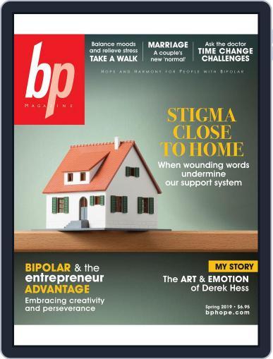 bp Magazine for Bipolar (Digital) April 1st, 2019 Issue Cover