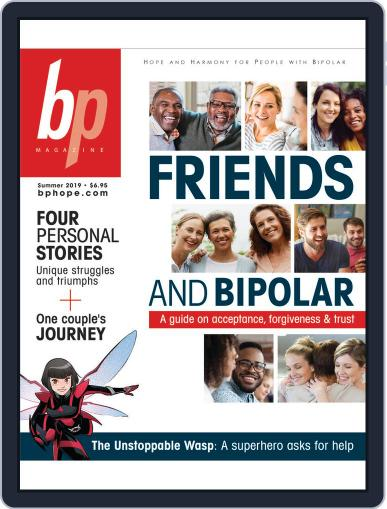 bp Magazine for Bipolar (Digital) July 1st, 2019 Issue Cover