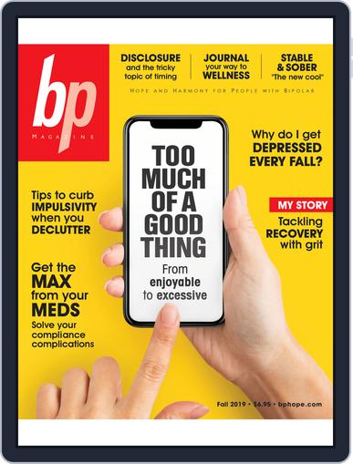 bp Magazine for Bipolar (Digital) October 1st, 2019 Issue Cover