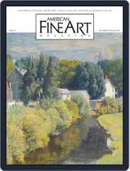 American Fine Art (Digital) Subscription September 1st, 2019 Issue