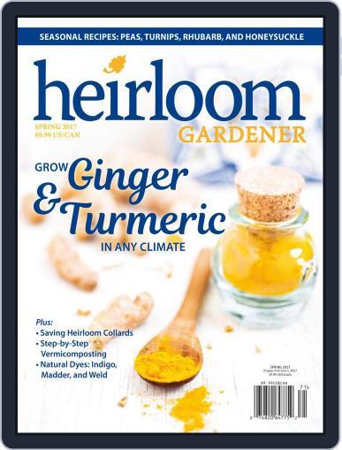 HEIRLOOM GARDENER (Digital) June 5th, 2017 Issue Cover