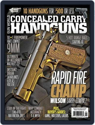 Conceal & Carry (Digital) September 1st, 2015 Issue Cover