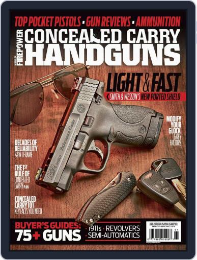 Conceal & Carry (Digital) May 1st, 2016 Issue Cover