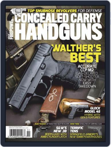 Conceal & Carry (Digital) January 1st, 2019 Issue Cover