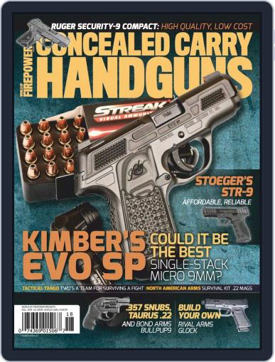 Conceal & Carry (Digital) August 1st, 2019 Issue Cover