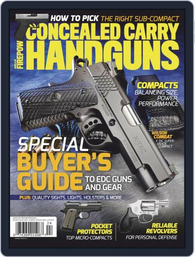 Conceal & Carry (Digital) December 1st, 2019 Issue Cover