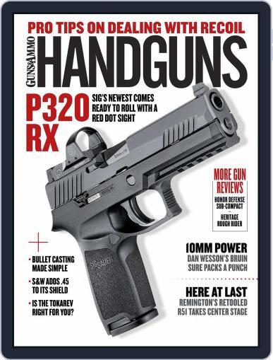 Handguns (Digital) December 1st, 2016 Issue Cover