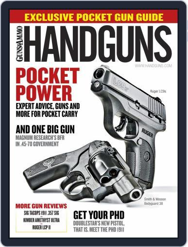 Handguns (Digital) February 1st, 2017 Issue Cover