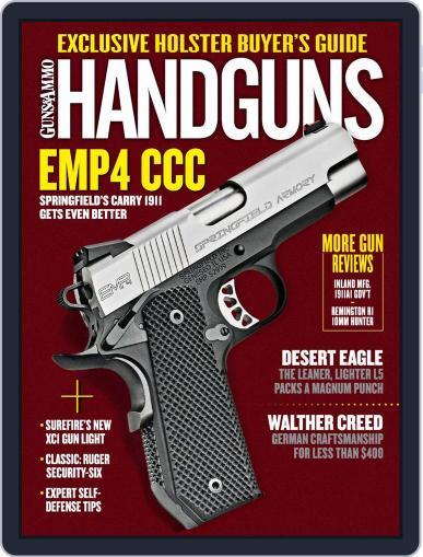 Handguns (Digital) June 1st, 2017 Issue Cover