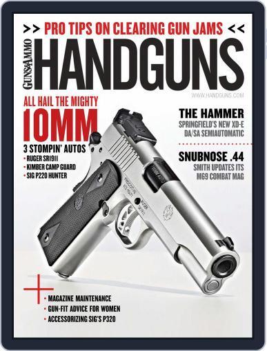 Handguns (Digital) October 1st, 2017 Issue Cover