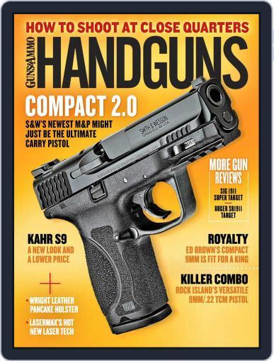 Handguns (Digital) December 1st, 2017 Issue Cover