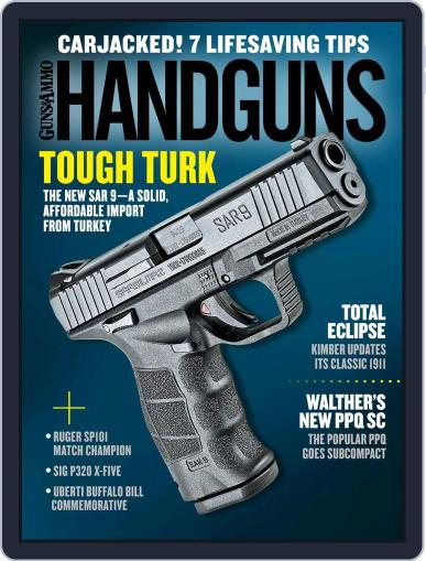 Handguns (Digital) April 1st, 2018 Issue Cover