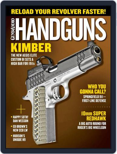 Handguns (Digital) August 1st, 2018 Issue Cover