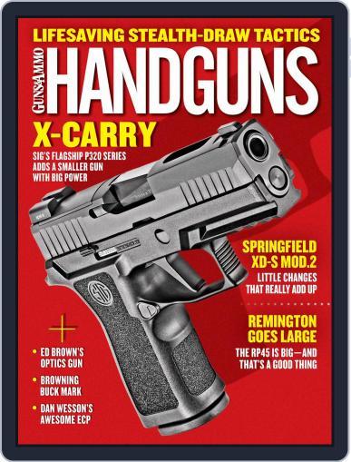 Handguns (Digital) February 1st, 2019 Issue Cover