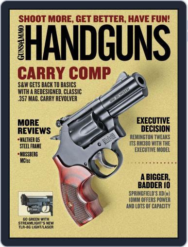 Handguns (Digital) June 1st, 2019 Issue Cover