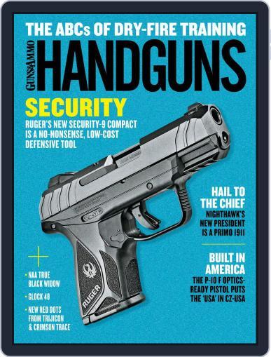 Handguns (Digital) August 1st, 2019 Issue Cover