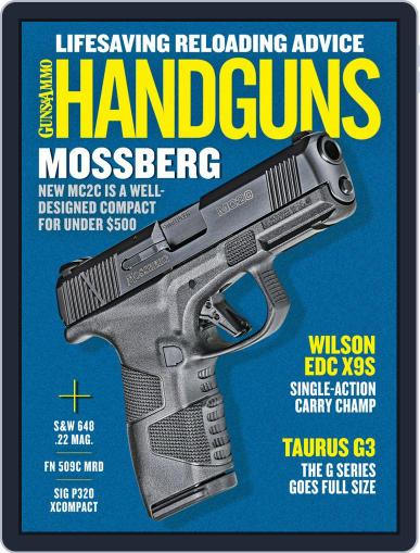 Handguns (Digital) April 1st, 2020 Issue Cover