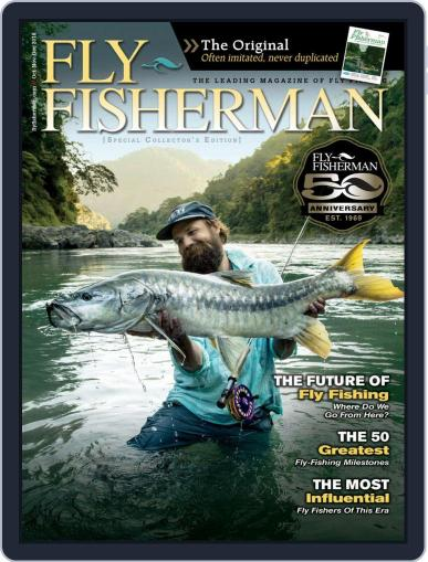 Fly Fisherman (Digital) September 25th, 2018 Issue Cover