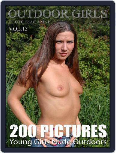 Outdoor Girls - Young Girls naked outdoors (Digital) August 23rd, 2018 Issue Cover