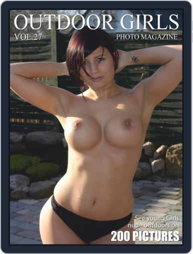 Outdoor Girls - Young Girls naked outdoors (Digital) October 21st, 2019 Issue Cover