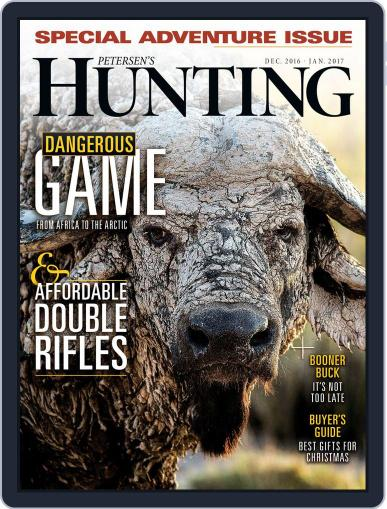 Petersen's Hunting (Digital) December 1st, 2016 Issue Cover