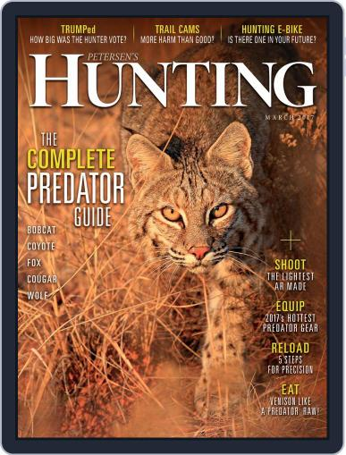 Petersen's Hunting (Digital) March 1st, 2017 Issue Cover