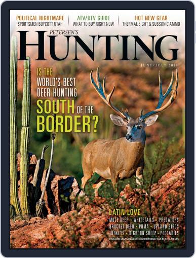 Petersen's Hunting (Digital) June 1st, 2017 Issue Cover