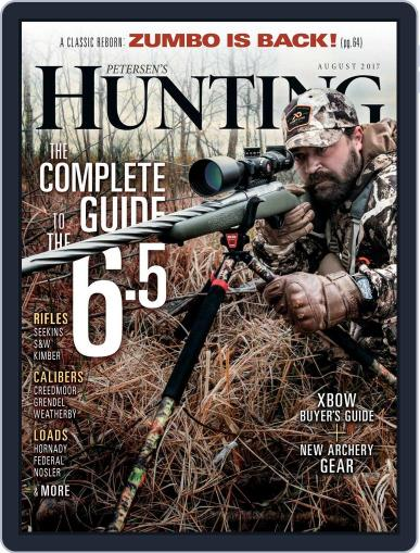 Petersen's Hunting (Digital) August 1st, 2017 Issue Cover